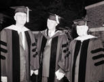 Honorary degree recipients at commencement ceremonies at South Dakota State College, 1953