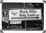 Black Hills Holy Land - Sign, 1975